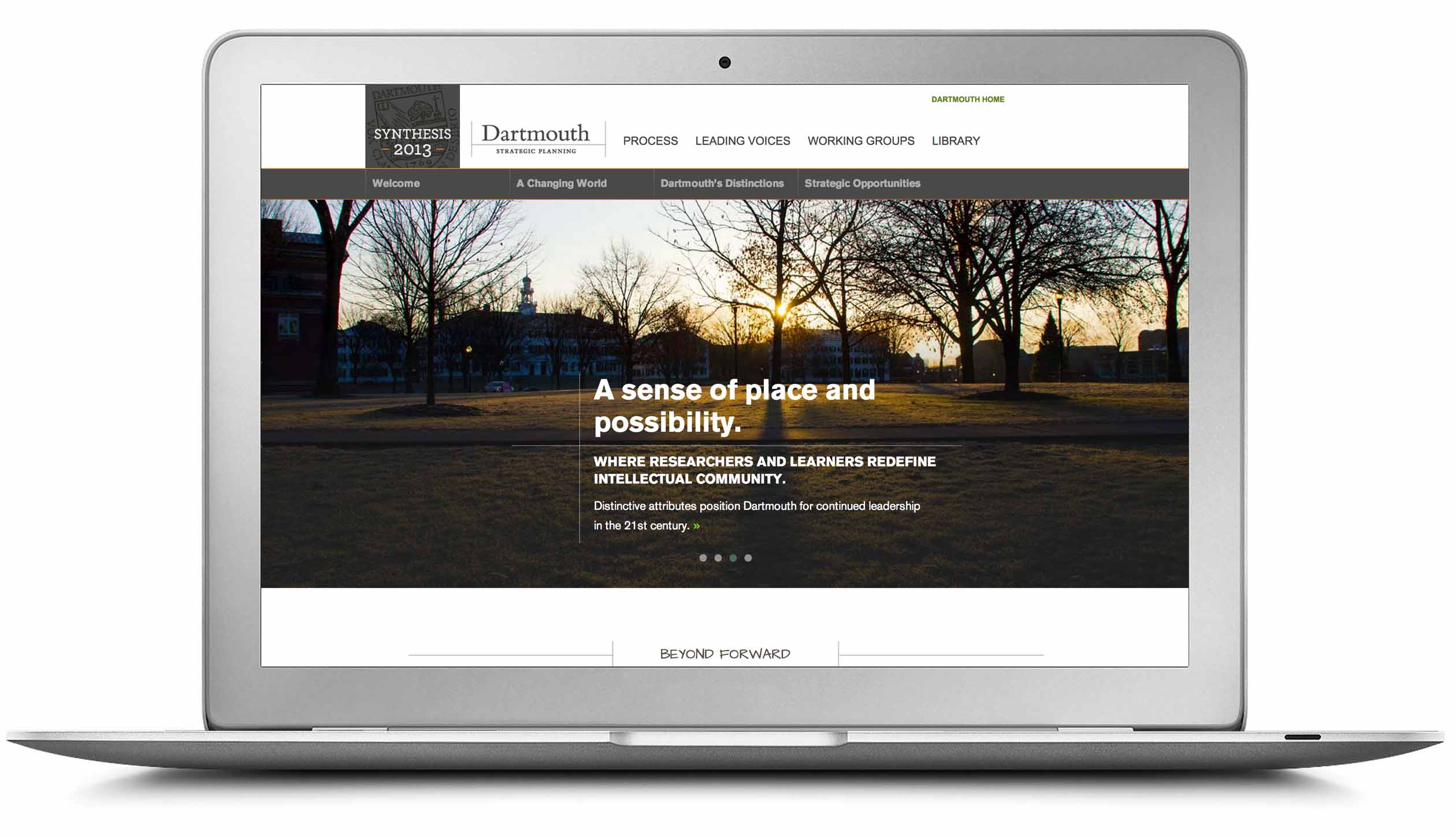 Dartmouth Strategic Planning home page