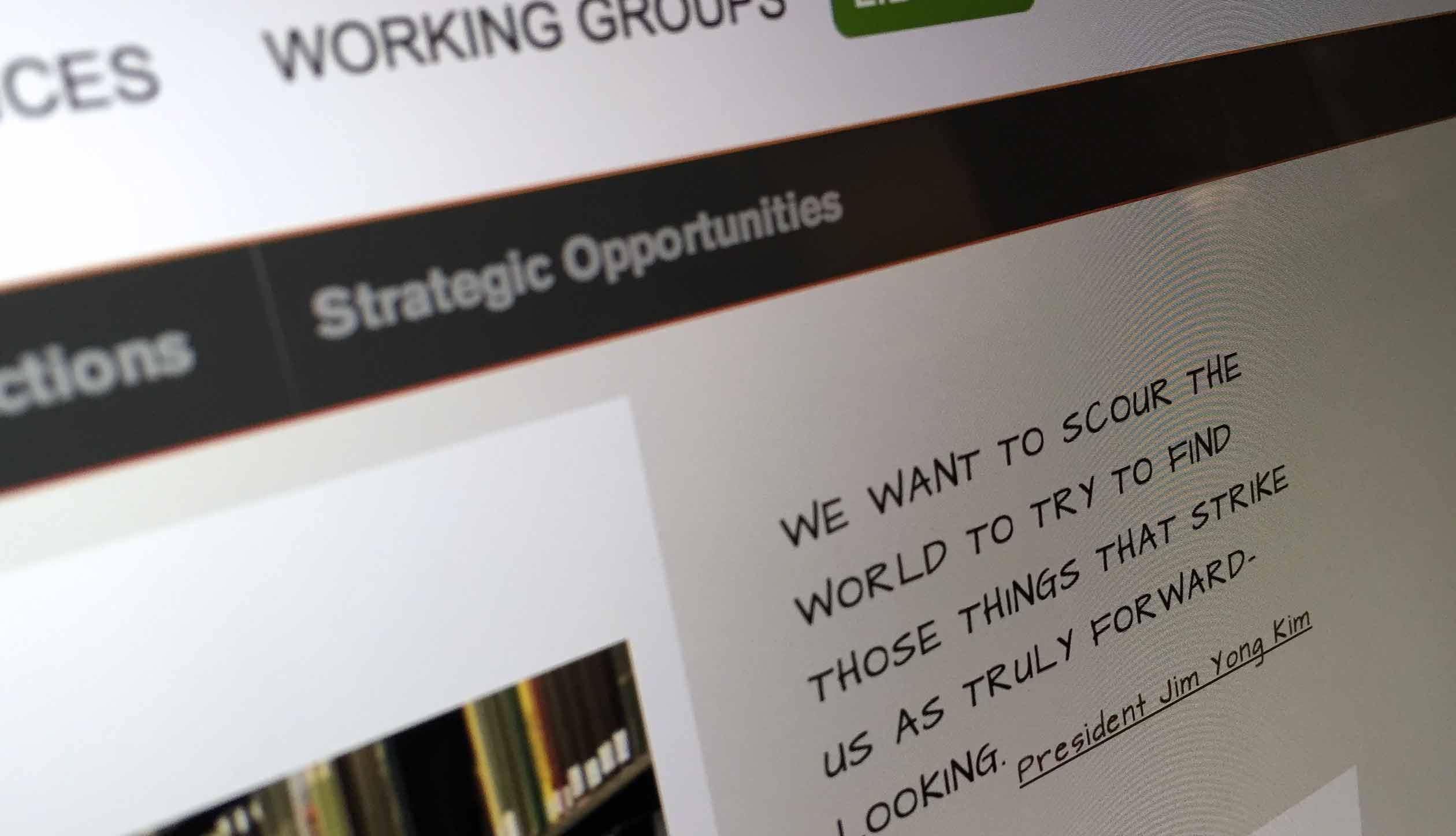 Dartmouth Strategic Planning President Kim quote