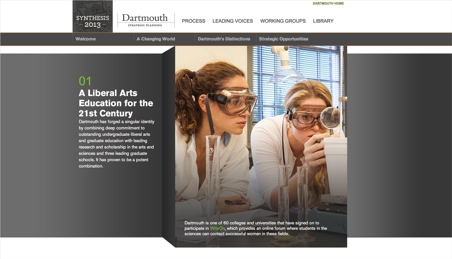 Dartmouth Strategic Planning Distinctions