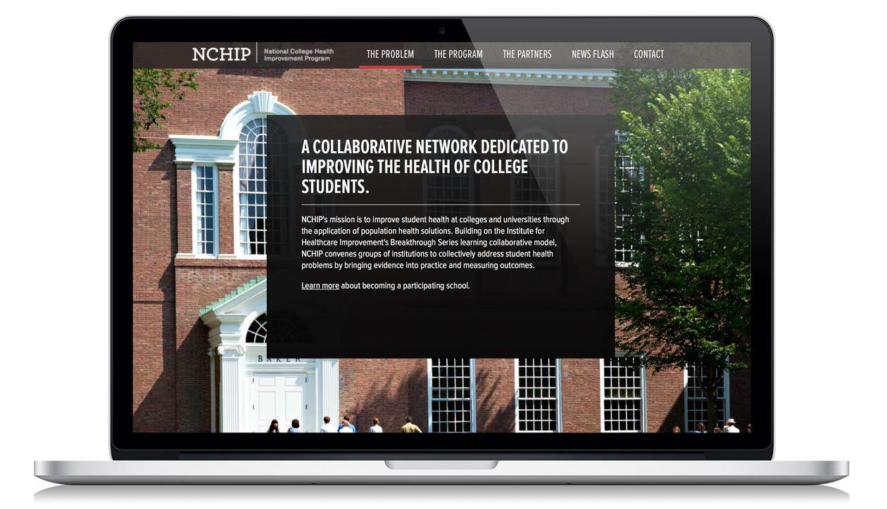 NCHIP home screen