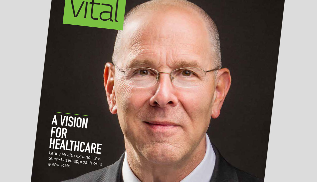 Vital magazine cover