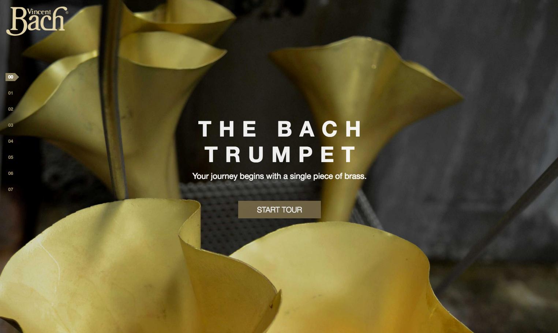 Conn Selmer trumpet tour home page