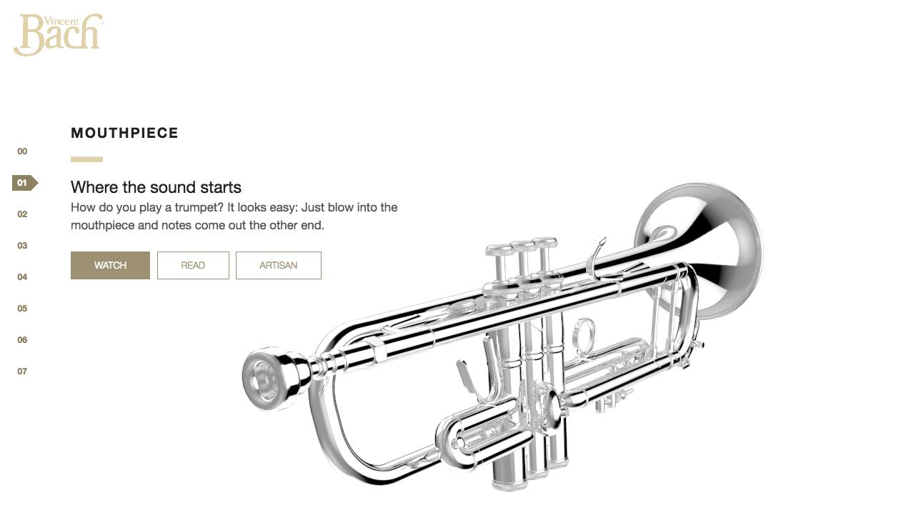 Conn Selmer trumpet tour mouthpiece