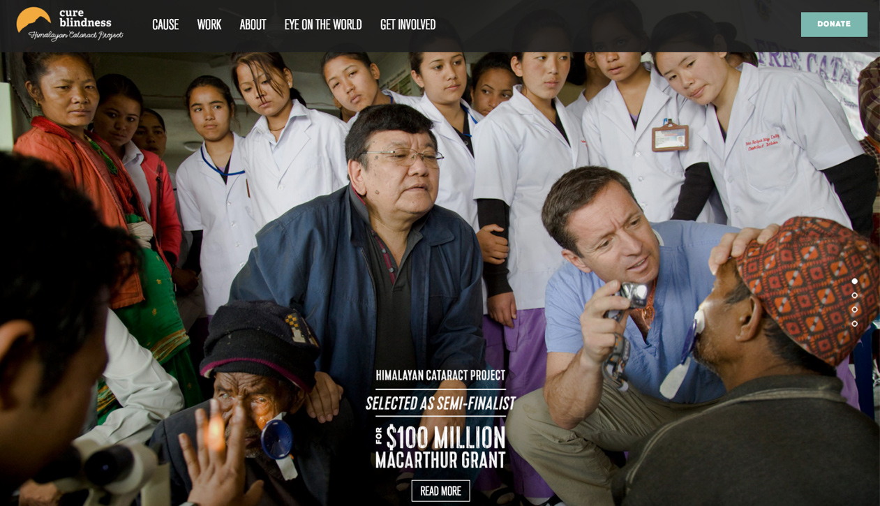 Himalayan Cataract Project Home page